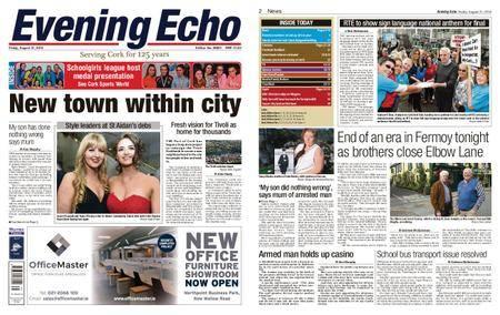 Evening Echo – August 31, 2018