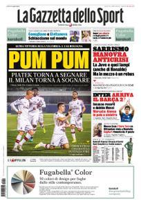 La Gazzetta dello Sport Roma – 09 dicembre 2019