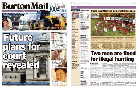 Burton Mail – November 19, 2019
