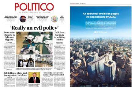 Politico – June 19, 2018