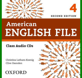 ENGLISH COURSE • American English File • Level 4 • Second Edition • AUDIO • Class CDs (2014)