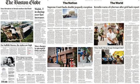 The Boston Globe – June 18, 2019
