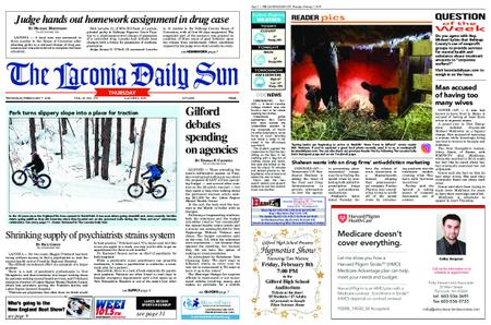 The Laconia Daily Sun – February 07, 2019