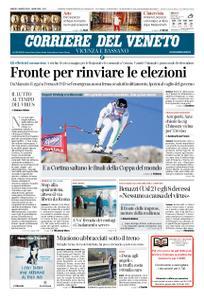 Corriere del Veneto Vicenza e Bassano – 07 marzo 2020
