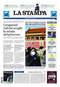 La Stampa Torino Provincia e Canavese - 21 Gennaio 2020