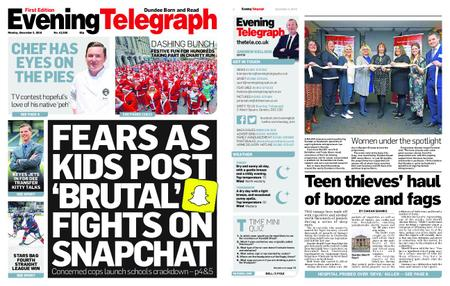 Evening Telegraph First Edition – December 03, 2018