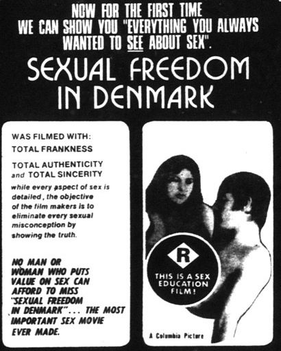 Sexual Freedom In Denmark (1970)