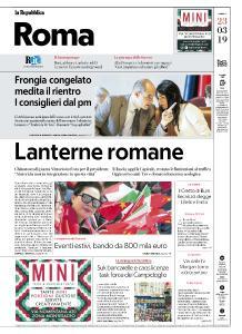 la Repubblica Roma - 23 Marzo 2019
