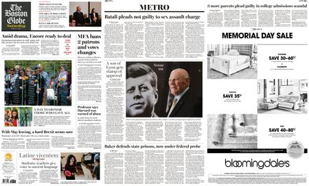 The Boston Globe – May 25, 2019