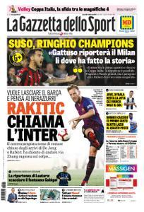 La Gazzetta dello Sport Roma – 08 febbraio 2019