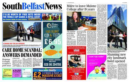 South Belfast News – June 21, 2018