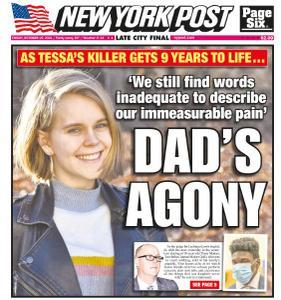 New York Post - October 15, 2021