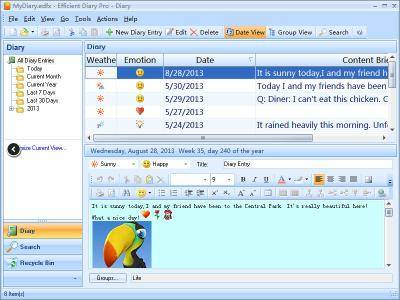 Efficient Diary Network 5.60 Build 554 Multilingual
