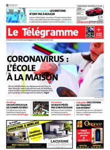 Le Télégramme Brest – 09 mars 2020