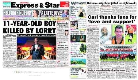 Express and Star Sandwell Edition – September 02, 2017