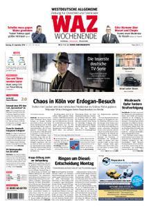 WAZ Westdeutsche Allgemeine Zeitung Oberhausen-Sterkrade - 29. September 2018