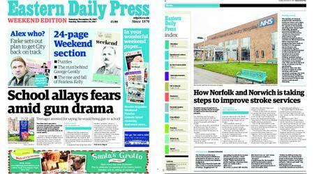 Eastern Daily Press – November 25, 2017