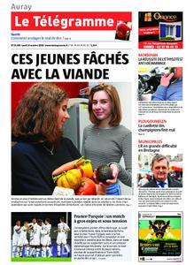 Le Télégramme Auray – 14 octobre 2019