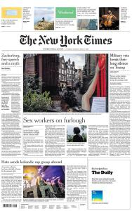 International New York Times - 6-7 June 2020