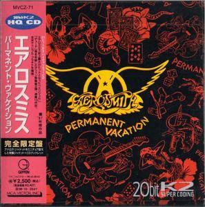 Aerosmith - Permanent Vacation (1987) {1994, 20 bit K2 Mastering, Japan}
