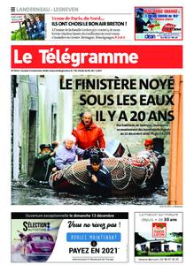 Le Télégramme Landerneau - Lesneven – 12 décembre 2020