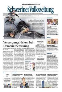 Schweriner Volkszeitung Hagenower Kreisblatt - 24. August 2018