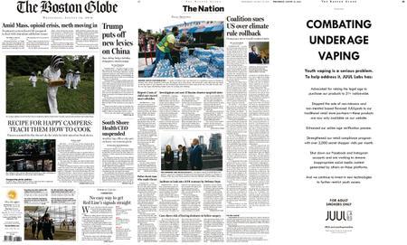 The Boston Globe – August 14, 2019