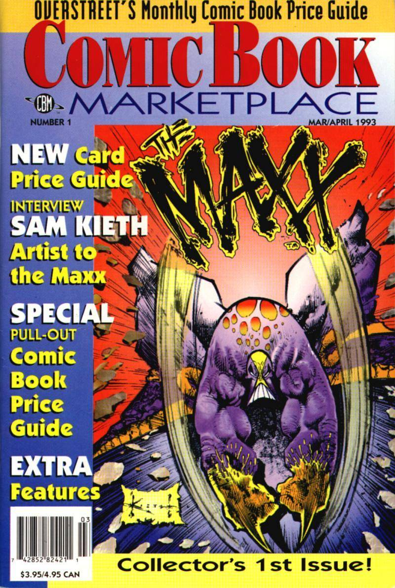 Overstreets Comic Book Marketplace 001 1993