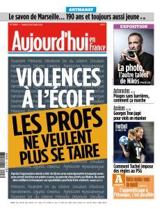 Aujourd'hui en France du Mardi 23 Octobre 2018