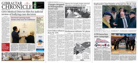 Gibraltar Chronicle – 24 January 2020