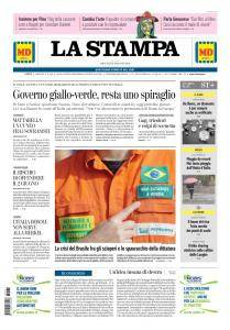 La Stampa Torino Provincia e Canavese - 31 Maggio 2018