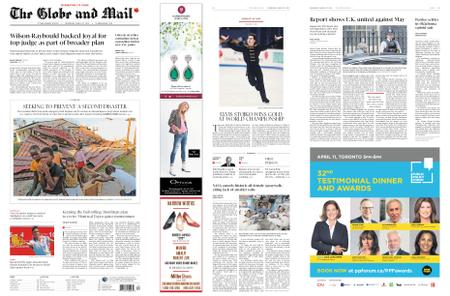 The Globe and Mail – March 27, 2019