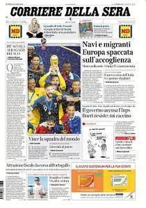 Corriere della Sera - 16 Luglio 2018