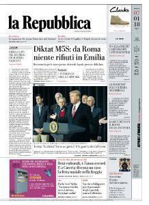 la Repubblica - 7 Gennaio 2018