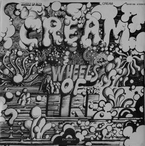 Cream - Wheels Of Fire (1968) Polydor/184 167/68 - DE 1st Pressing - 2LP/FLAC In 24bit/96kHz
