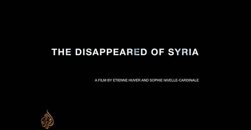 Al-Jazeera - The Disappeared of Syria (2016)