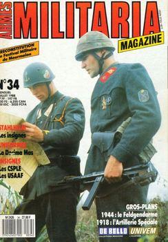 Armes Militaria Magazine №34 (1988-07)