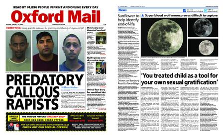 Oxford Mail – January 22, 2019