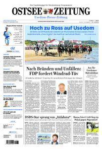 Ostsee Zeitung Wolgast - 10. September 2018