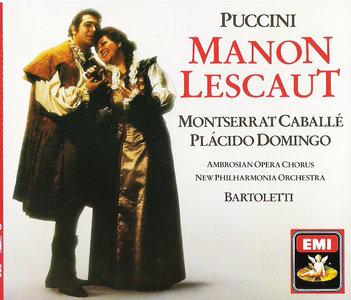 Puccini - Manon Lescaut - Caballé - Domingo (CD 1987) [Repost]