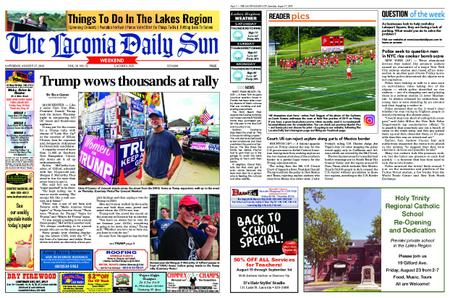 The Laconia Daily Sun – August 17, 2019