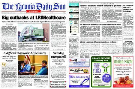 The Laconia Daily Sun – February 14, 2018