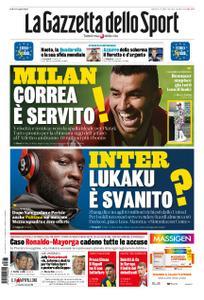 La Gazzetta dello Sport Roma – 23 luglio 2019