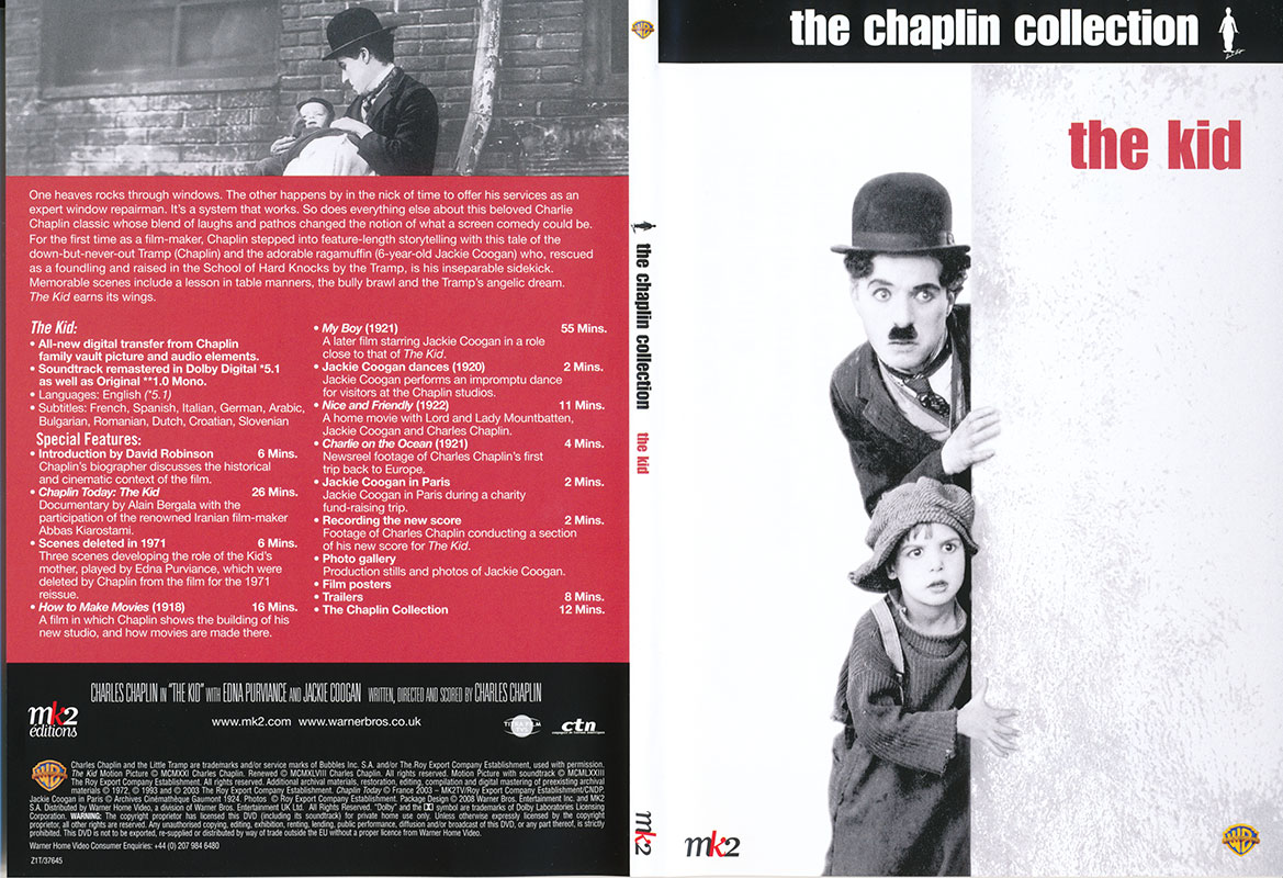 The Kid: The Chaplin Collection (1921) [RE-UP]
