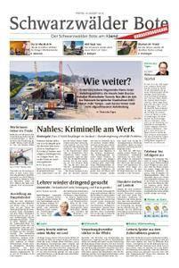 Schwarzwälder Bote Hechingen - 10. August 2018