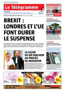 Le Télégramme Concarneau – 17 octobre 2019