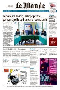 Le Monde du Mercredi 8 Janvier 2020