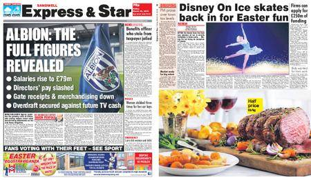 Express and Star Sandwell Edition – March 30, 2018