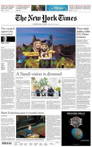 International New York Times - 18 May 2020