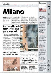 la Repubblica Milano - 15 Febbraio 2018